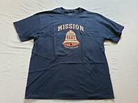 San Francisco Missions Men's Ebbets Field Flannels 1937 T-Shirt AB3 Navy Size XL