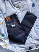 "Wesc ""Marwin"" Raw Selvedge Denim Jeans - Sizes 31x32"