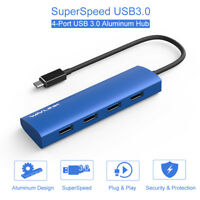 Wavlink 4-Port USB 3.0 Hub USB 3.1 Type C Hub Adapter super speed, Aluminum Body