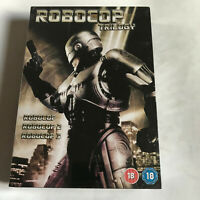 Robocop Trilogy (DVD, 2002, 3-Disc Set) 1 2 3 / NEW & SEALED R 2