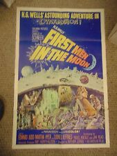 H.G. Wells First Men In The Moon 1 Sheet Poster #M6233