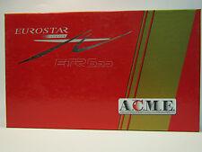 ACME 70022 - SET DI 3 VETTURE EUROSTAR LIVREA AV - ETR500 POLITENSIONE