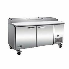 Ikon Ipp71 2d 70 Two Section Refrigerated Pizza Prep Table