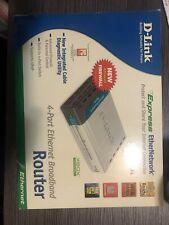 D-Link Di-604 4-Port Ethernet Broadband Router