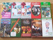 Christmas VHS Lot: Howdy Doody, Frosty, Santa Claus, Carols, Little House, Como
