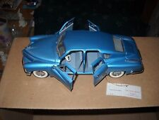 FRANKLIN MINT*1948 TUCKER 1/24 SCALE --with C.O.A. & PAPERWORK--NO BOX--NICE