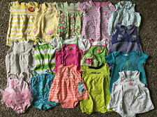 Lots Girl's Size 12 M Months One Piece Romper Outfits Ur Pick Carter's, Etc +