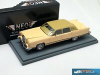 Lincoln Continental Town Car yellow 1977 NEO44420 1:43