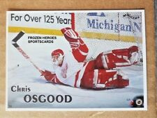 1996 MAGGERS Proof Chris Osgood Detroit Red Wings *FREE COMBINE SHIP*
