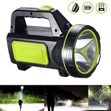USB Rechargeable LED Work Light Searchlight Handheld Spotlight Flashlight