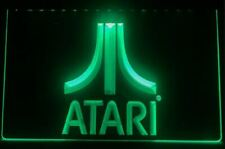 Atari LED Neon Bar Sign Home Light up movie Pub mancave console breakout led