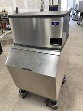 Manitowoc 300 lb. Ice Machine w/ Ice Bin -Air Cooled - Mod# Iy0304A-161 Mint!