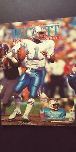 Beckett Football Card Magazine, DAN MARINO, Sept. 1991, Issue # 18, NM