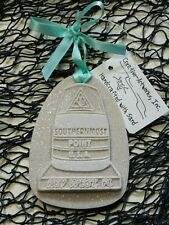 SOUTHERNMOST POINT Key West Buoy Made with Sand Tropical Beach Ornament