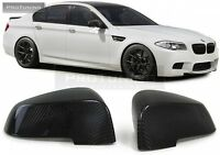 For BMW 7ER F01 F02 F03 11-15 Carbon Performance mirror M covers  fiber real