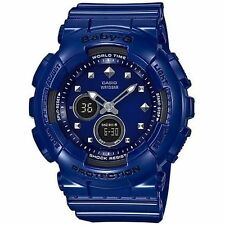 Casio Baby-G 2-Eye Blue Ana-Digital Ladies Watch BA125-2A
