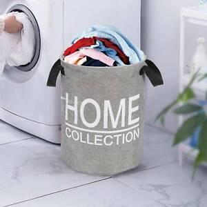 Clothes Washing Laundry Bag Bin Reusable Pop Collapsible Basket Hamper Bag