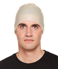 ADULT BALD CAP SKIN HEAD HALLOWEEN GHOST FANCY DRESS COSTUME ACCESSORY