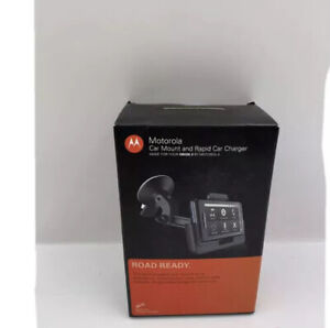 Motorola Car Mount and Rapid Car Charger for Motorola DROID 2