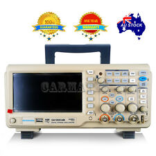 "ATTEN OSCILLOSCOPE GA1202CAM 200MHz 2Mpt 1GS 7"" LCD Screen USB Multimeter Aussie"
