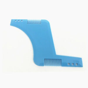 New Beard Shaping Template Comb Tool Beauty For Perfect Lines And Symmetry