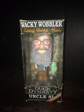 Duck Dynasty Uncle Si Wacky Wobbler Talking Bobblehead