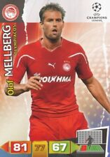 OLOF MELLBERG SWEDEN OLYMPIACOS FC CARD ADRENALYN CHAMPIONS LEAGUE 2012 PANINI