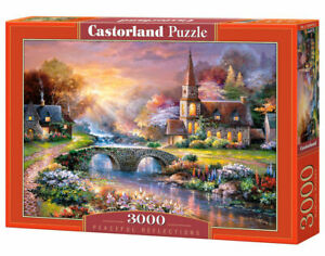 Castorland C-300419-2 - Peaceful Reflections, Puzzle 3000 Pieces - New