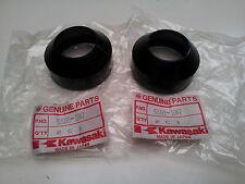 NOS KAWASAKI KZ550 KZ 550 STD LTD GP - FRONT FORK DUST SEAL (x2) 92093-1047