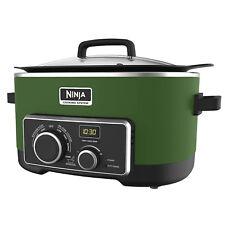 Original NINJA 4-in-1 Cooking System 6 Qt MC900QGN (Certified Refurbished) GREEN