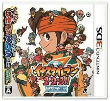 USED 3DS Inazuma Eleven 1 2 3 Endou Mamoru Densetsu
