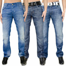 Short Coloured Treatment Classic Fit, Straight Jeans for Men
