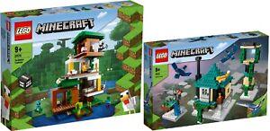 LEGO® Minecraft 21174 Das moderne Baumhaus 21173 Der Himmelsturm 06/21