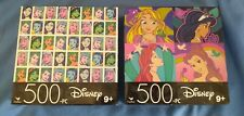 Disney Princess Puzzle 500 Piece Lot of 2