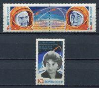 28698) RUSSIA 1963 MNH** Nuovi** Space flights 3v