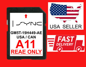 A11 FORD LINCOLN LATEST NAVIGATION SD CARD GPS MAP UPDATE SYNC UPDATES A10 A9 A8