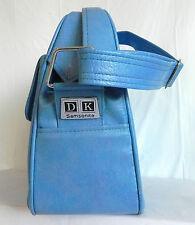 Vtg Samsonite D.K. Vinyl Bag / Shoulder/Travel Bag Turquoise Tone / Size M