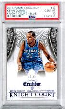 2014 Panini Excalibur Kevin Durant Knight Court - Blue PSA 10 43/99