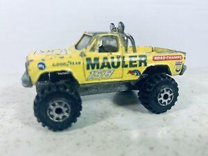 Road Champs GMC High Roller 4x4 Mauler #158 - Yellow