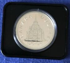 1976 Canadian Silver Dollar Commemorating The Library of Parliament
