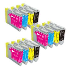 Printer Ink Pack for LC51 LC-51 Brother MFC-5460CN MFC-230C MFC-240C MFC-440CN