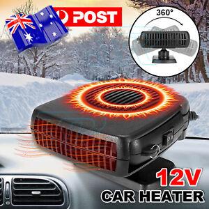 Portable Car Vehicle Ceramic Heating Heater Fan Defroster Demister DC 12V