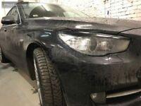 Pour BMW 5 Série F07 Gt Paupières Masques Avant Phare Sourcils