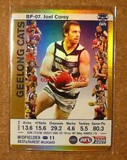 2009 AFL Teamcoach Best and Fairest BF-07 Joel Corey GOLD