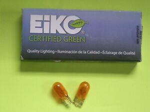 Side Marker Light Bulb-Amber  Eiko 194A    QTY OF 2 BULBS     (LOC SB12)