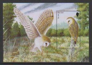 Jersey - 2001, Birds of Prey sheet - MNH - SG MS1005