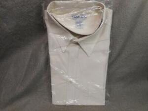 MEN'S CHEROKEE OFF WHITE LS SHIRT SIZE XL 100% COTTON N/R