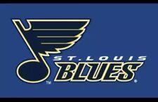 St Louis Blues Outdoor Flag-royal Blue-NHL-3x5
