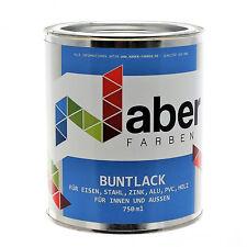 (17,32 €/L) 750 ml Buntlack - RAL 7035  LICHTGRAU -  Seidenglanz