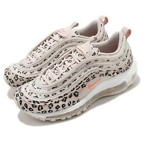 Nike Wmns Air Max 97 SE Leopard Desert Sand Peach Cream White Women CW5595-001